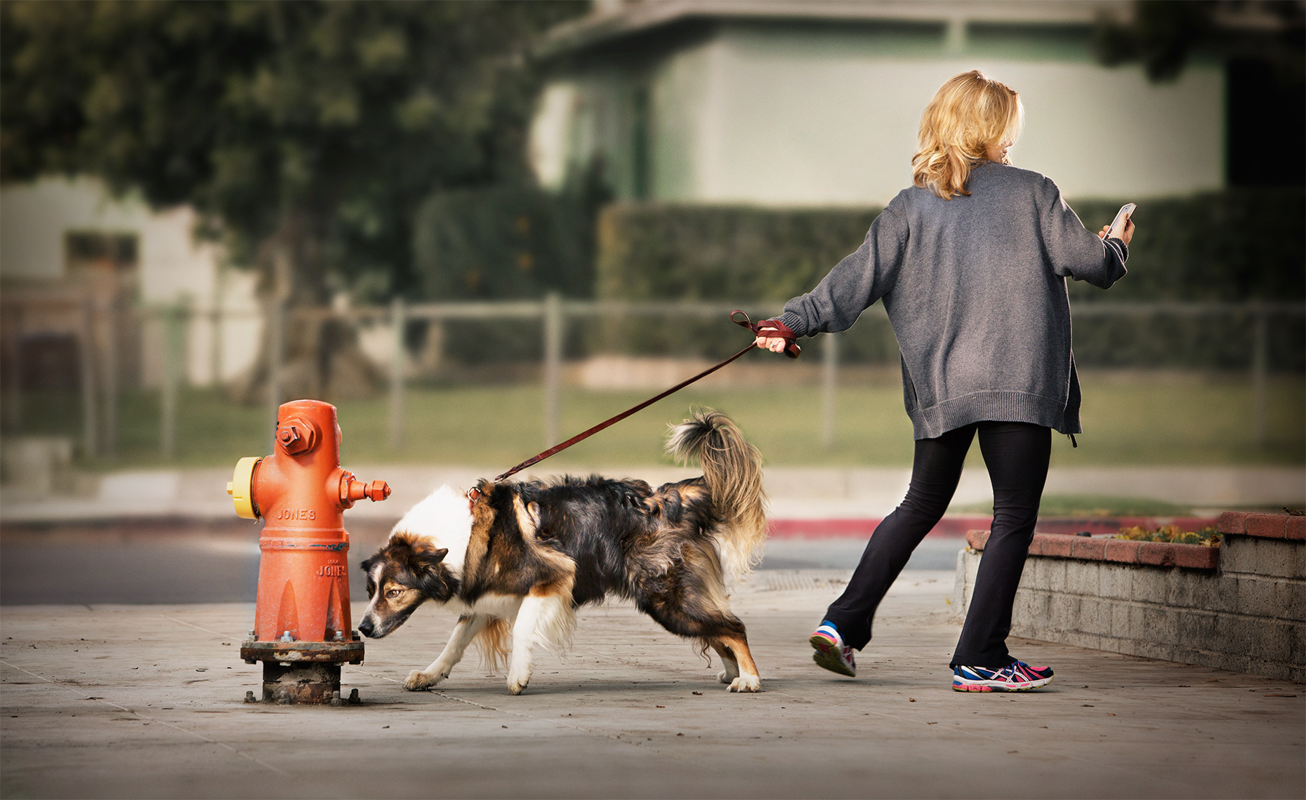 Woman_Dog_Hydrant